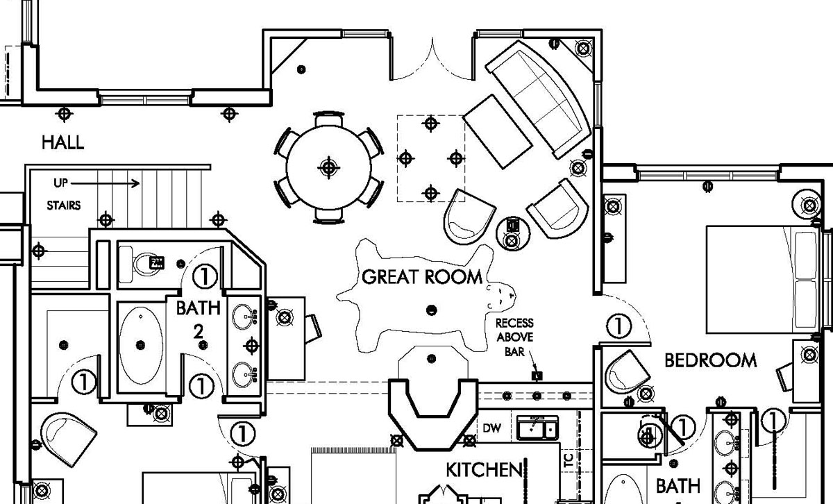 49841 Earthroamer Interior Layout likewise Elkton likewise Floor Plans in addition 1 Bedroom 1 Bath House Plans in addition Single Wide Mobile Home Floor Plan 713. on make bathroom floor plans