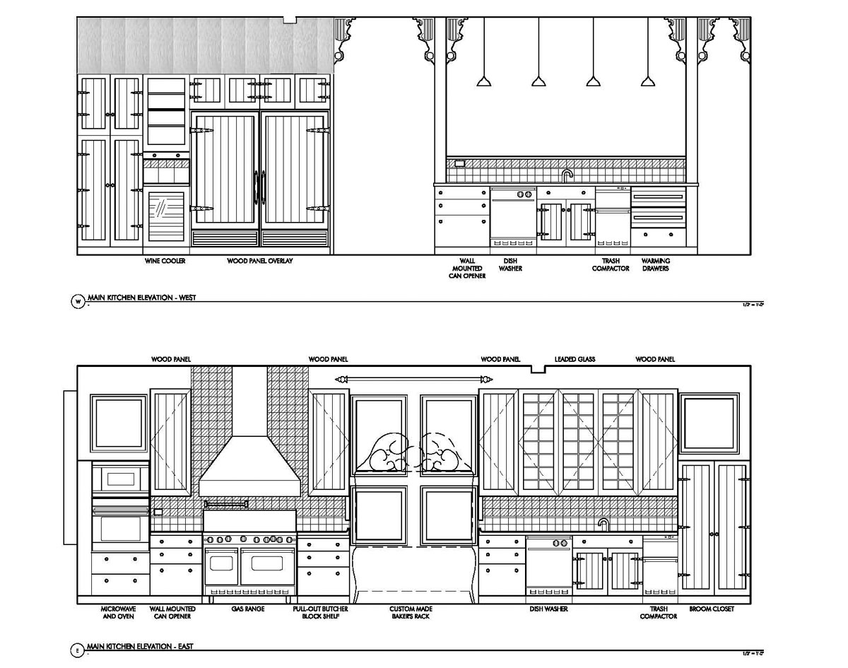 Superior l shaped kitchen cabinet layout 6 colo kitchen for Kitchen cabinets elevation